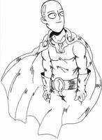 Saitama Sketch by Monotic