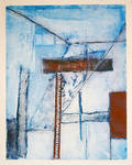 Abstract Collagraph