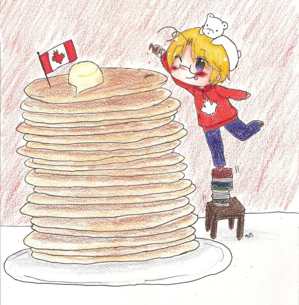 Happy Birthday Canada! by AnaRini-tan
