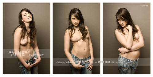 triptych of expressions by amiedodgson