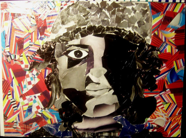 collage self portrait