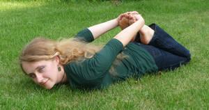 exercise in the garden 9