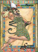 Horus Promo Card P1 by Pernastudios
