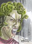 Medusa Sketch Card - Francois Chartier by Pernastudios