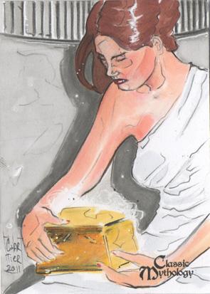 Pandora Sketch Card - Francois Chartier