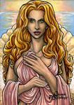 Aphrodite Sketch Card - Lynne Anderson