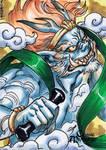Fujin Sketch Card - Mel Uran