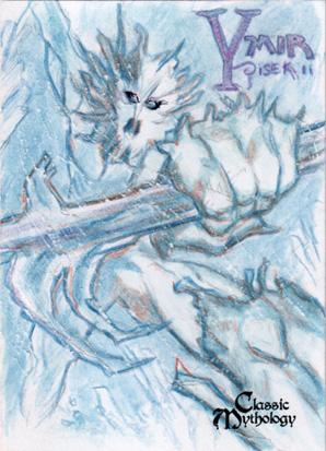 Ymir Sketch Card - Bennett Pisek