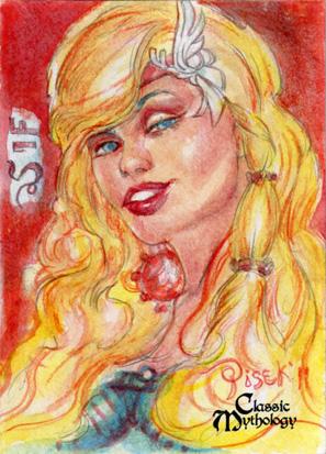 Sif Sketch Card - Bennett Pisek