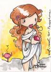 Persephone Sketch Card - Katie Cook