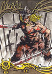 Nuada Sketch Card - Nestor Celario Jr.