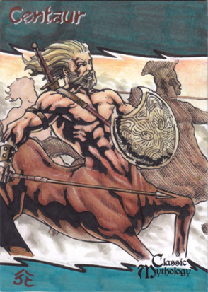 Centaur Sketch Card - Nestor Celario Jr.