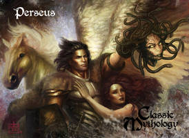 Perseus Base Card Art - BARD! by Pernastudios