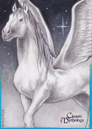 Pegasus Sketch Card - J.D. Seeber
