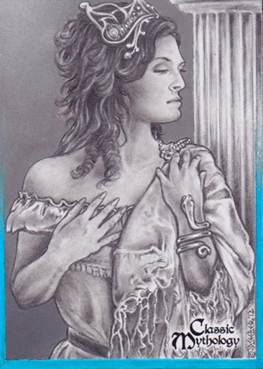 Hera Sketch Card - J.D. Seeber