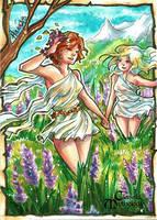 Meadow Nymphs - Hanie Mohd by Pernastudios
