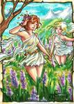 Meadow Nymphs - Hanie Mohd