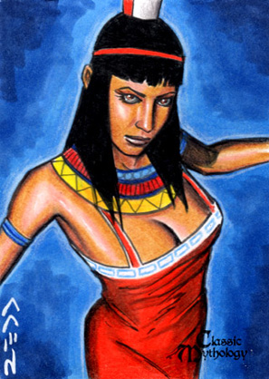 Nephthys Sketch Card - Jack Redd