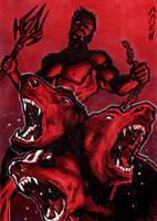 Hades Sketch Card - Jack Redd by Pernastudios