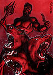 Hades Sketch Card - Jack Redd