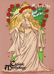 Aphrodite Base Card Art Danielle Soloud-Gransaull