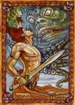 Perseus Sketch Card - Soni Alcorn-Hender