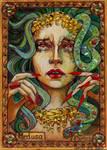 Medusa Sketch Card - Soni Alcorn-Hender