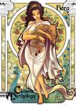 Hera Base Card Art - Hanie Mohd