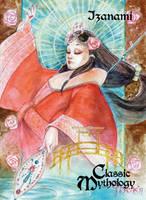 Izanami Base Card Art - Bennett Pisek by Pernastudios