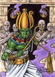 Osiris Sketch Card - Tony Perna
