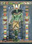 Osiris Base Card Art - Meghan Hetrick