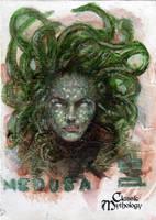 Medusa Sketch Card - BARD! by Pernastudios