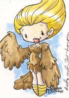 Harpy Sketch Card - Katie Cook by Pernastudios