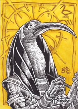Thoth Sketch Card - Nestor Celario Jr.