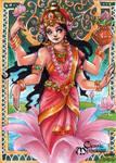Lakshmi Sketch Card - Hanie Mohd