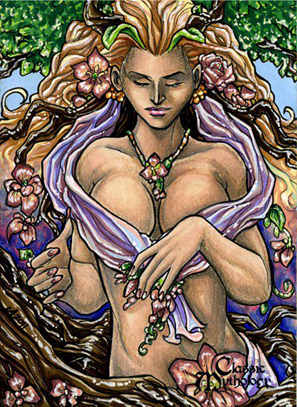 Gaia Sketch Card - Lynne Anderson