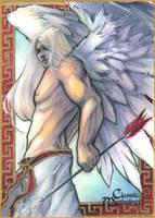 Eros Sketch Card - Meghan Hetrick by Pernastudios