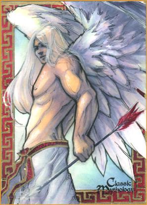 Eros Sketch Card - Meghan Hetrick