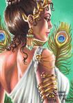 Hera Sketch Card - Rhiannon Owens