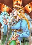 Freyja Sketch Card - Mel Uran