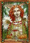 Cernunnos Sketch Card - Soni Alcorn-Hender