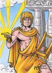 Apollo Sketch Card - Tony Perna