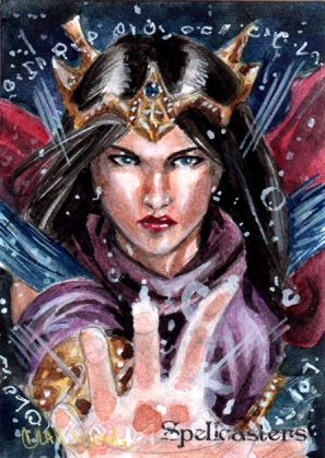 Spellcasters Sketch Card - Craig Yeung 1