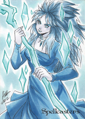 Spellcasters Sketch Card - Irma Ahmed 3