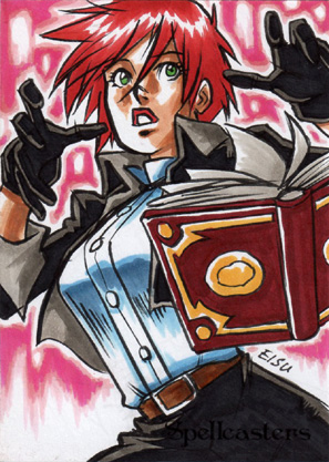 Spellcasters Sketch Card - Remy Mokhtar 2
