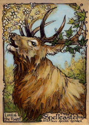 Spellcasters Sketch Card - Soni Alcorn-Hender 3