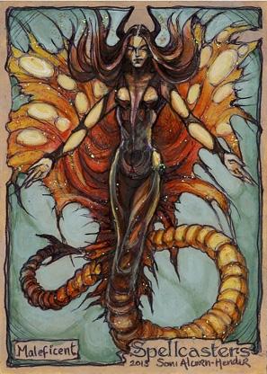 Spellcasters Sketch Card - Soni Alcorn-Hender 2