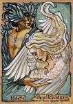 Spellcasters Sketch Card - Soni Alcorn-Hender 1