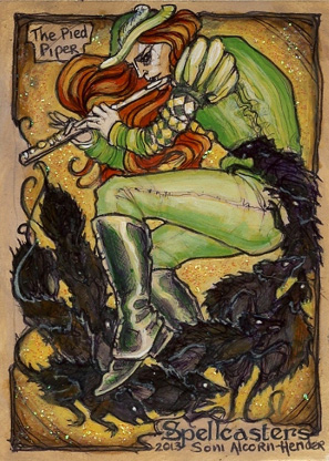 Spellcasters Sketch Card - Soni Alcorn-Hender 5