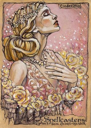 Spellcasters Sketch Card - Soni Alcorn-Hender 4